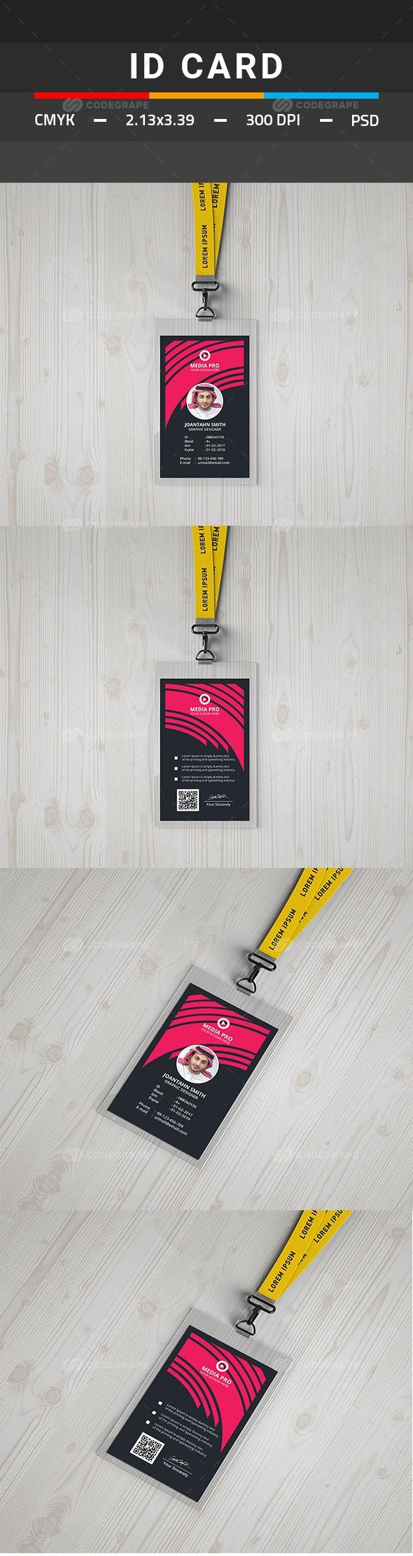 ID Card | work | Pinterest | Tarjetas de presentación, Tarjetas y Utiles