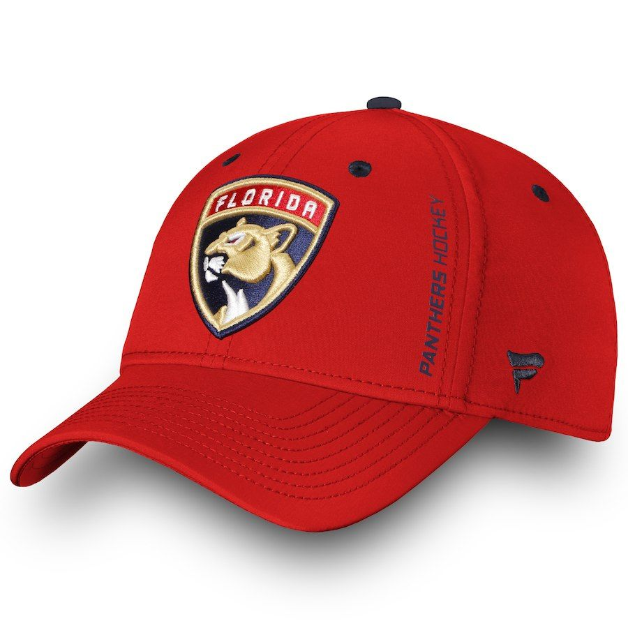 finest selection 6e7c6 58eca Men s Florida Panthers Fanatics Branded Red Authentic Pro Rinkside Speed  Flex Hat, Your Price   29.99