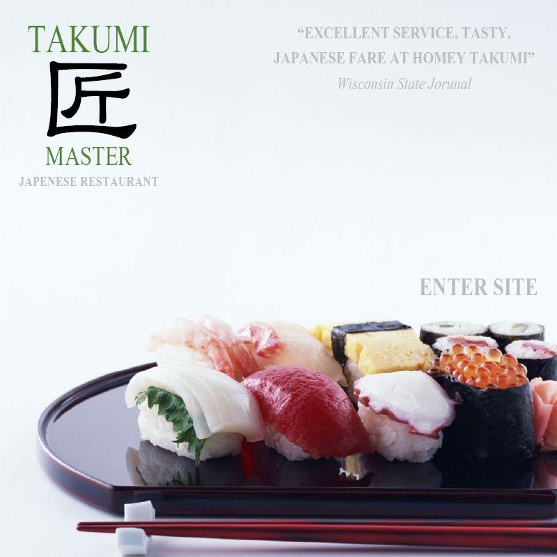 Takumi Sushi Madison Wi Japanese Restaurant Food Tasty