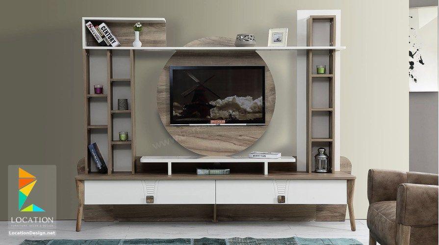 تصميم مكتبات مودرن 2019 افكار لتعليق التلفزيون في الجدار Tv Unit Design Tv Unit Design