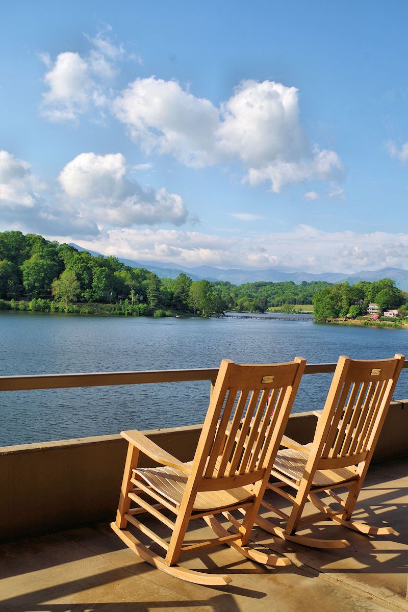 Rock Your Cares Away At Lake Junaluska, Near Asheville, NC, A Retreat In