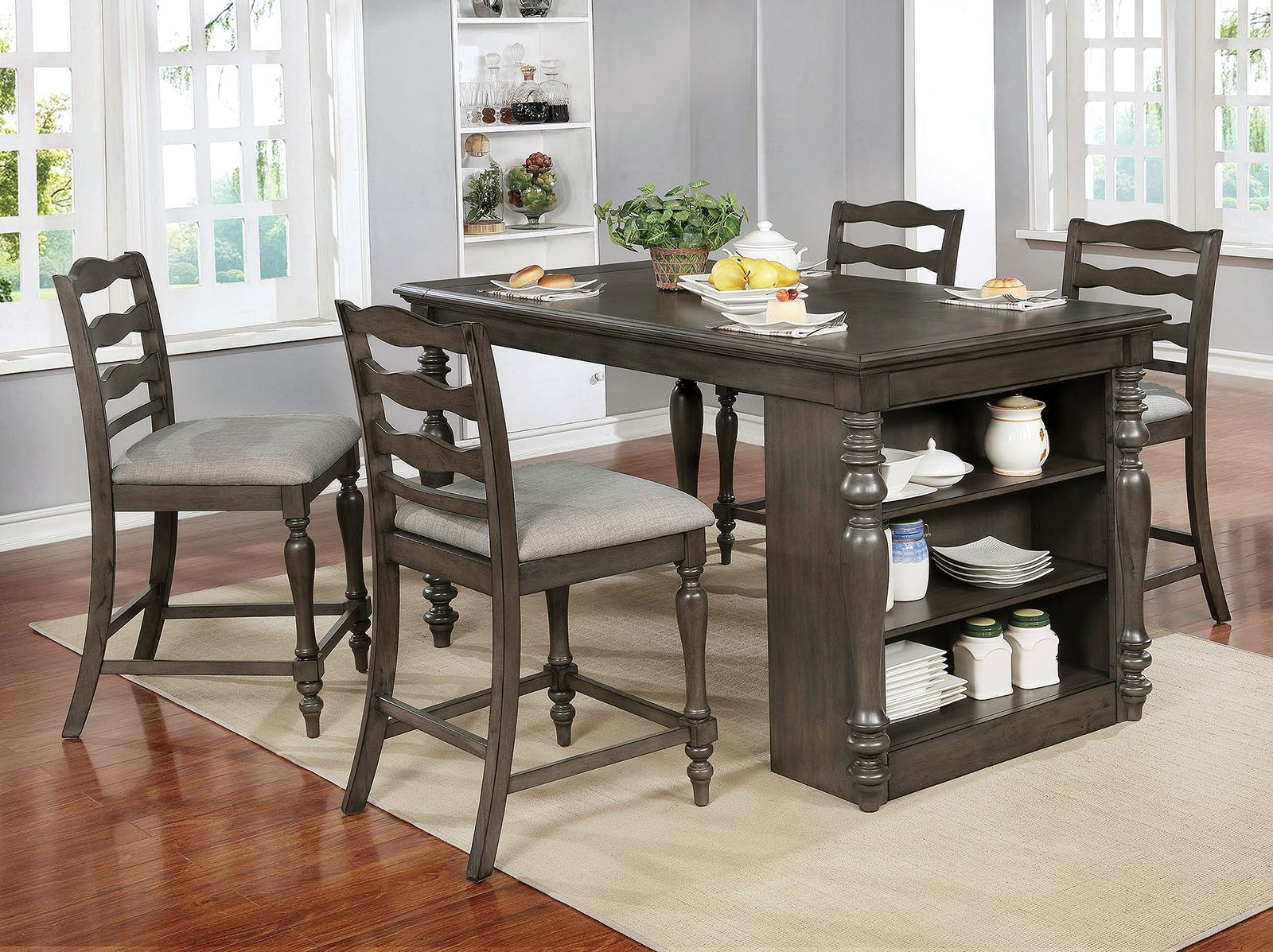 34+ Signature design by ashley caitbrook counter height dining storage table Trend