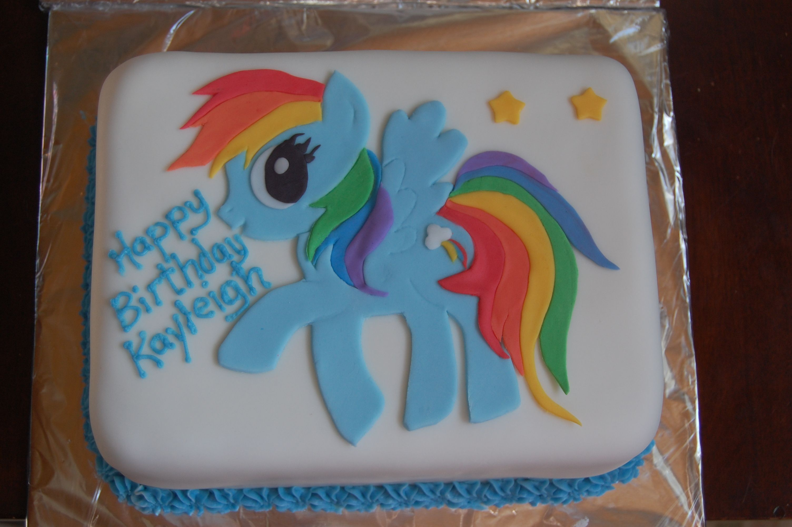Rainbow dash my little pony cake i think this is the for Rainbow dash cake template