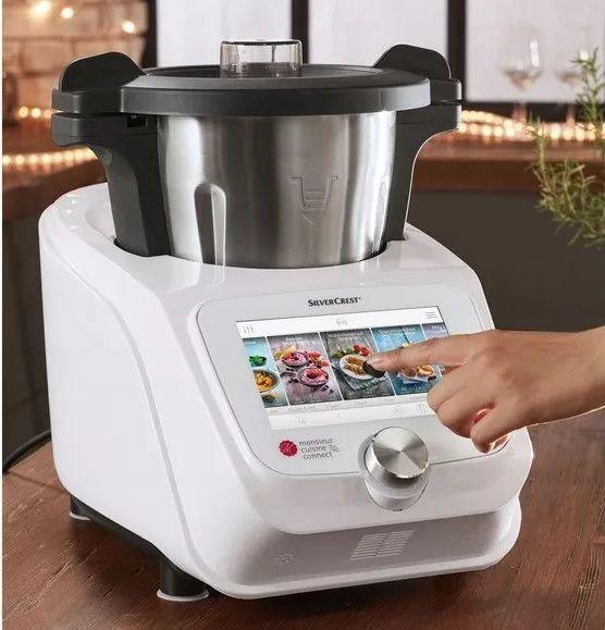 Nowy Lidlomix Monsieur Cuisine Connect Robot Kuchenny Z Lidl Gdańsk Cooker Food Blog Lidl