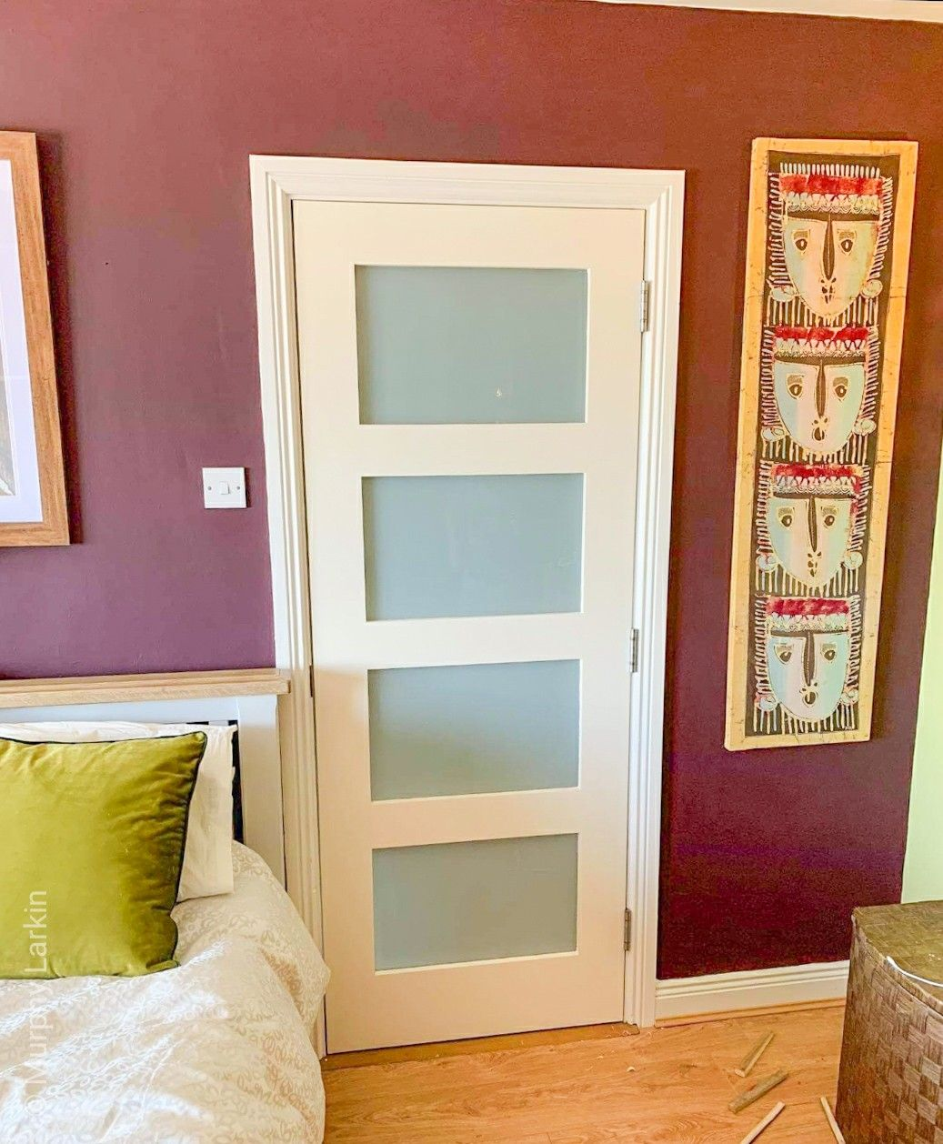 Our Frosted Glass Deanta Doors Are Ideal For Any Bathroom In 2020 Prehung Doors Contemporary Doors Engineered Flooring