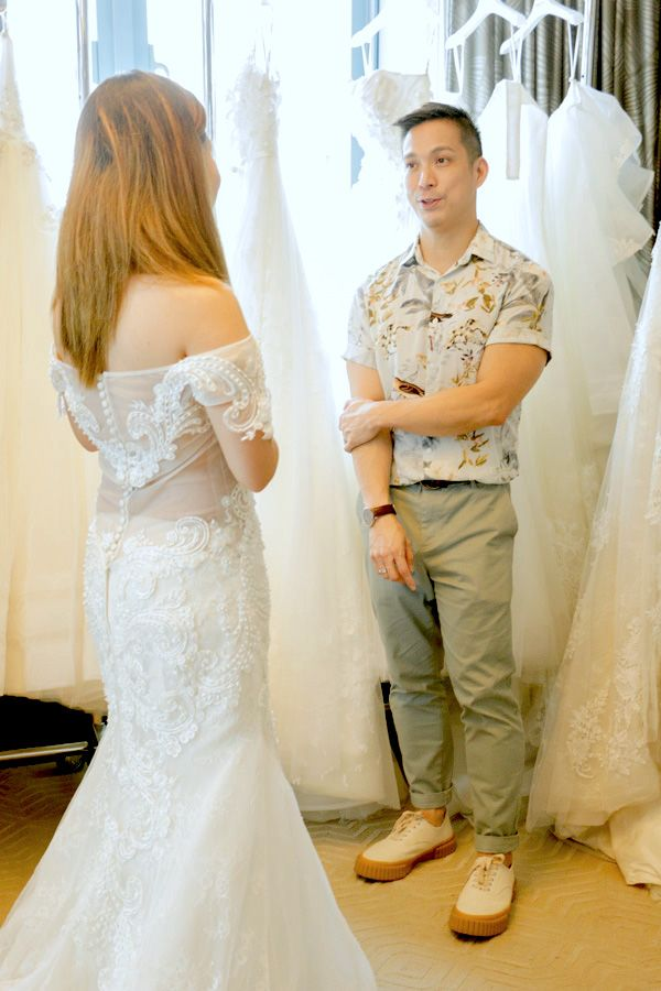 Francis Libiran Shares 8 Important Tips On Wedding Dress Fittings