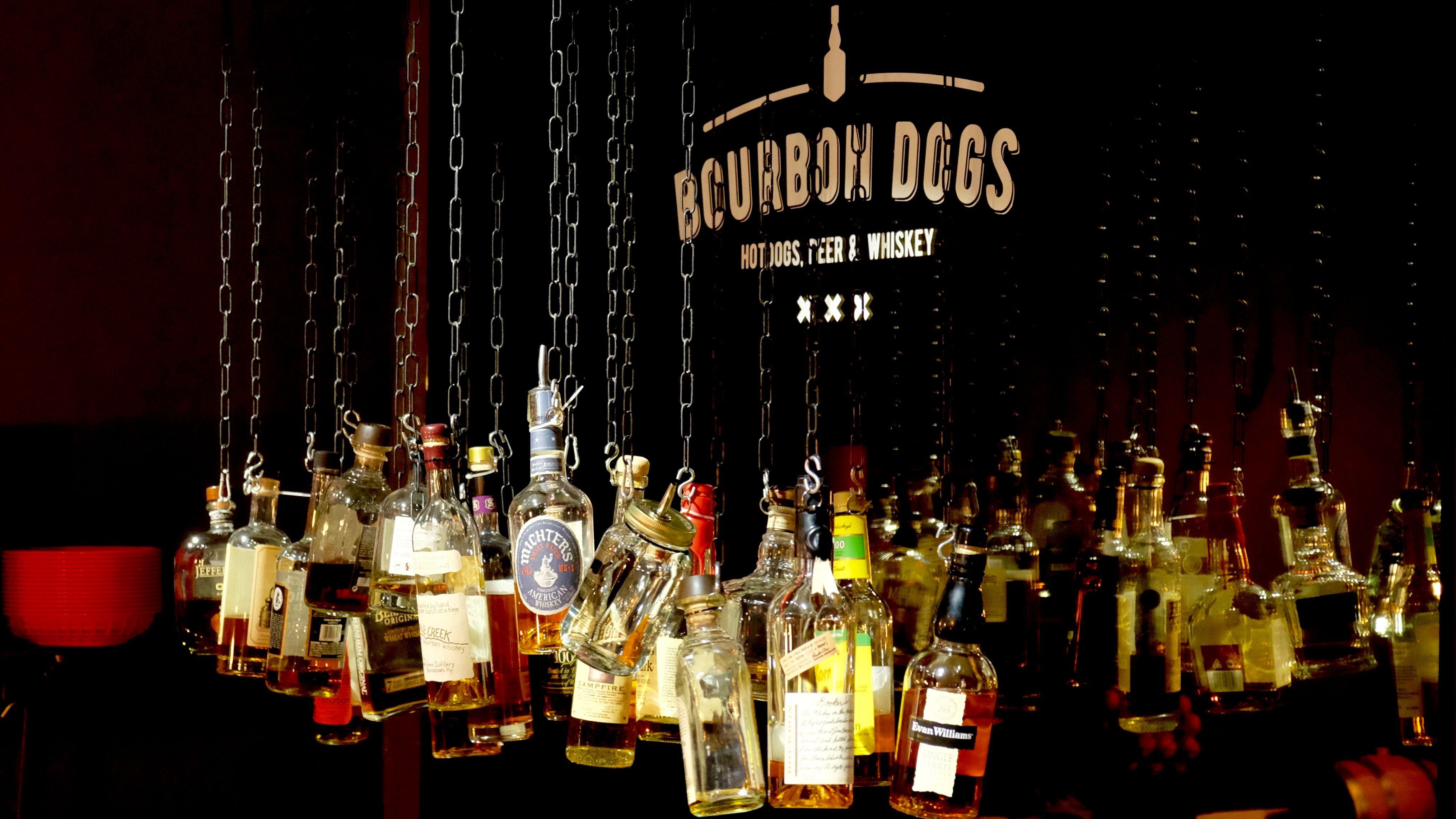Bourbon+Dogs