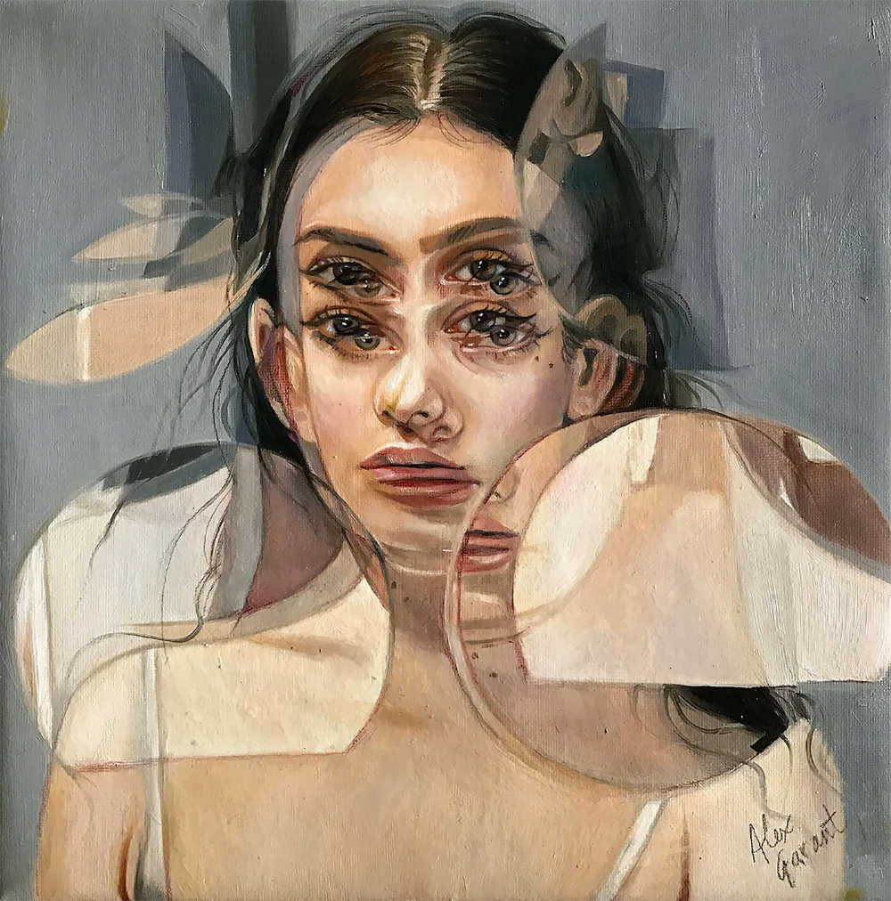 Double Vision: Paintings by Alex Garant | Daily design inspiration for  creatives | Inspiration Grid in 2020 | Alex garant, Gcse art sketchbook,  Surreal art