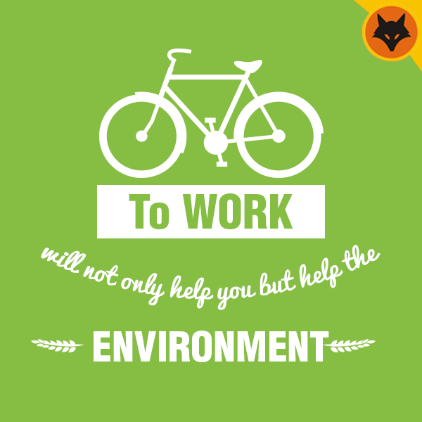 Cycling To Work Is Fun Good For Your Health And Environment And