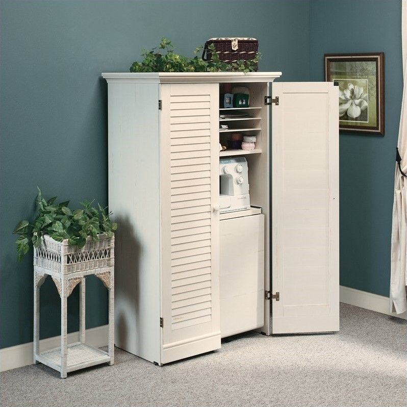 29+ Craft storage armoire with table ideas