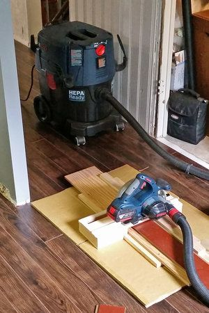 How To Cut Laminate Flooring Dust Free With A Circular Saw General