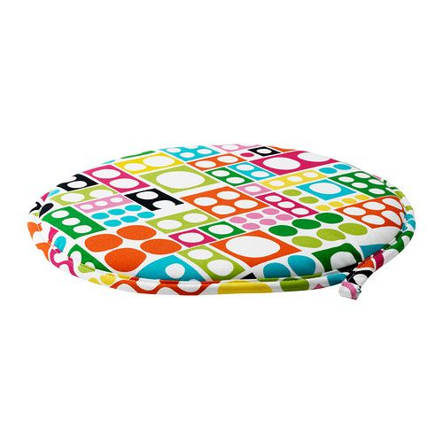 Beau CILLA Chair Pad IKEA  This Cute And Colorful Chair Pad Creats A Good Reason  To Get Round Seats! $5