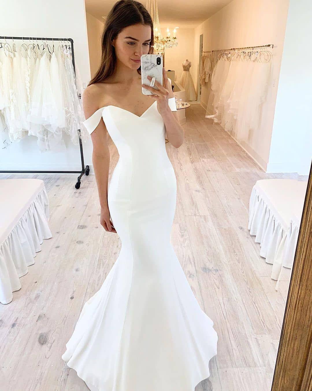 Wd0741 Elegant Mermaid Sweetheart Satin Wedding Dresses On Storenvy Wedding Dress Material Wedding Dresses Satin Satin Wedding [ 1350 x 1080 Pixel ]