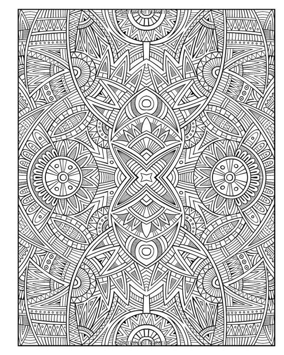 Another Cool Detailed Stress Relieving Pattern That We Absolutely Love Hope You Do To Detailed Coloring Pages Mandala Coloring Pages Printable Coloring Pages