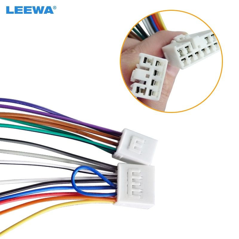 Car Audio Stereo Wiring Harness Adapter Plug For Toyota ... on chevy trailblazer stereo harness adapters, radio harness adapters, car audio harness adapters, car stereo adapters, stereo wiring harness kit, stereo wiring harness color codes,