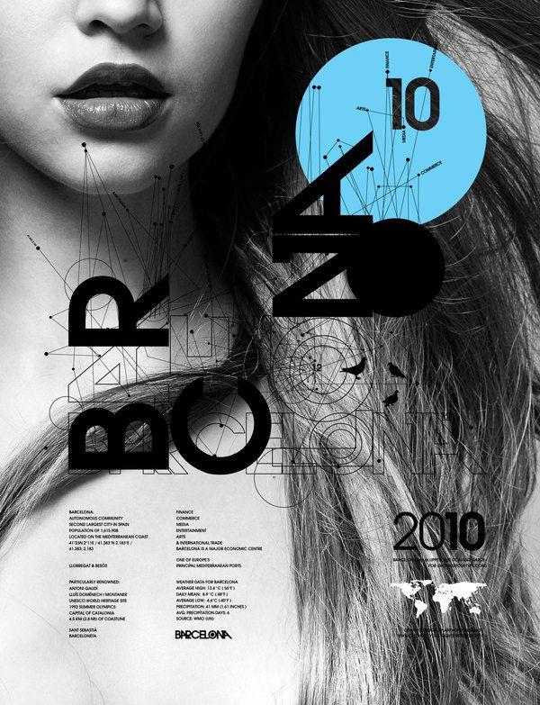 #magazine #Poster #typography #Design #Magazin #Typografie #blau #blue #schwarz #black