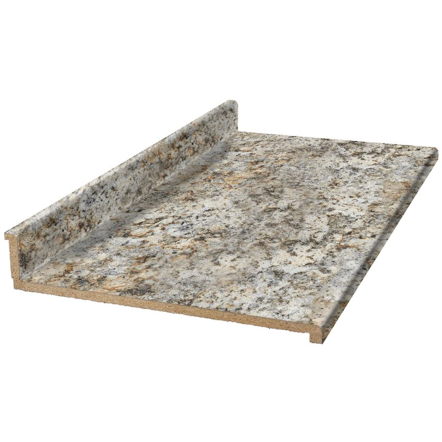 Vt Dimensions Formica 10 Ft 9291 46 Geriba Gold Granite Etchings Straight Laminate Kitchen Countertop 011312011019291 4 In 2020 Laminate Kitchen Countertops Formica