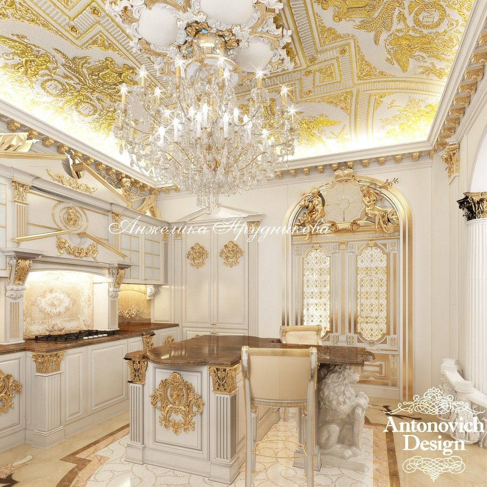 8 Dizajn Kottedzhej Houseq1 In 2019 Luxury Kitchens Grand