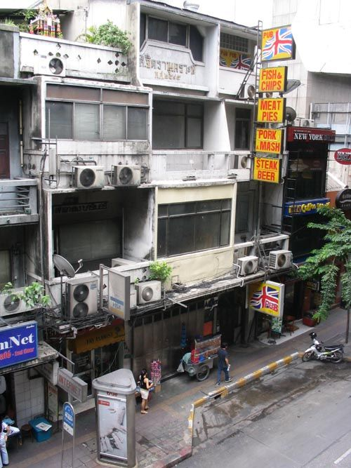 Silom Area, Bangkok, Thailand