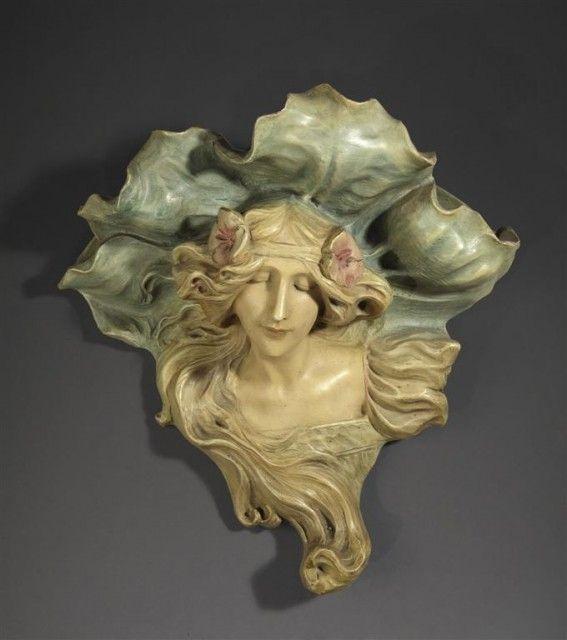 Terracotta sculpture by Lambert Escaler i Milà - 1874-1957