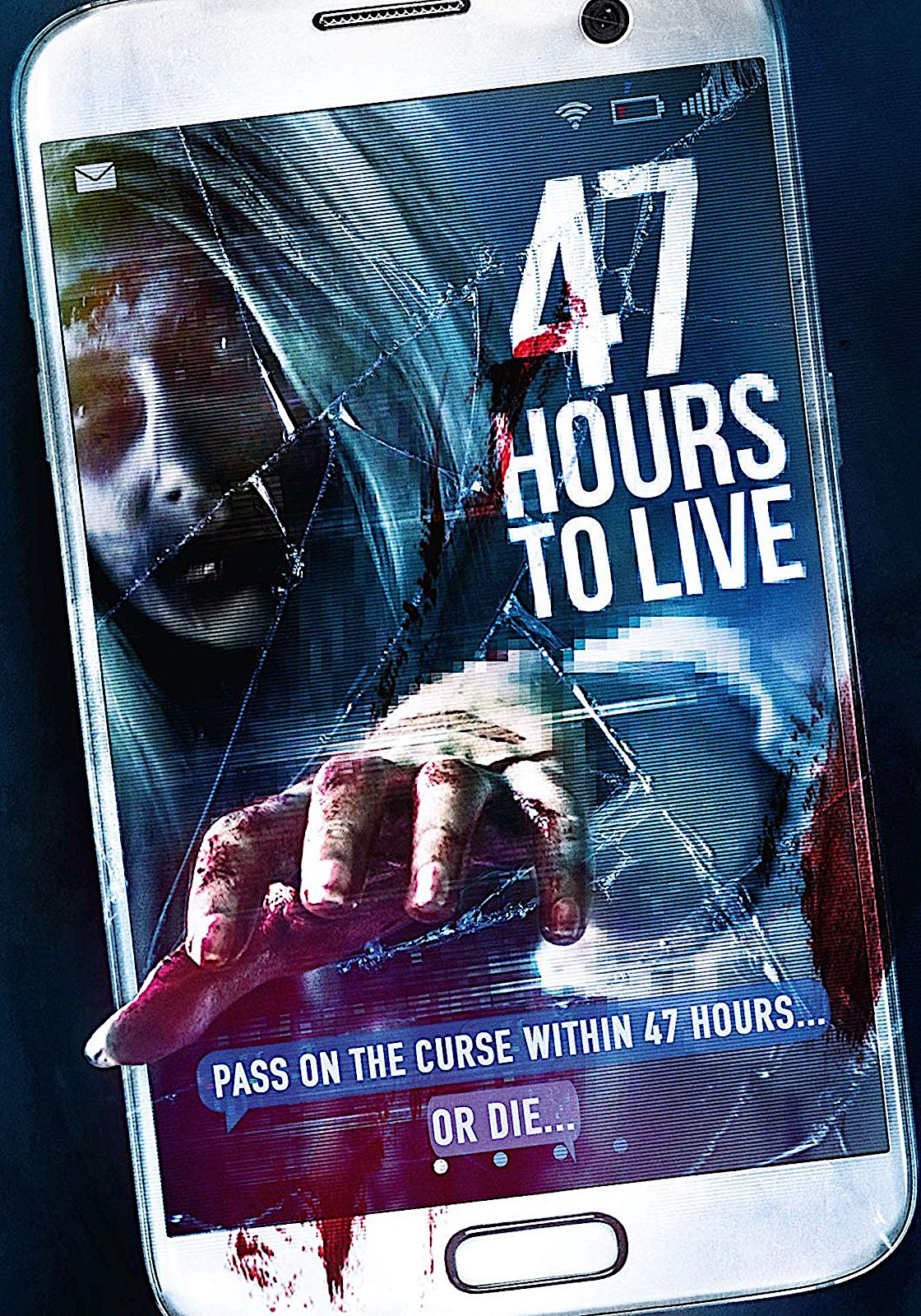 47 Hours To Live Dvd 4digital Cover Artwork Horror Movies Cover Art
