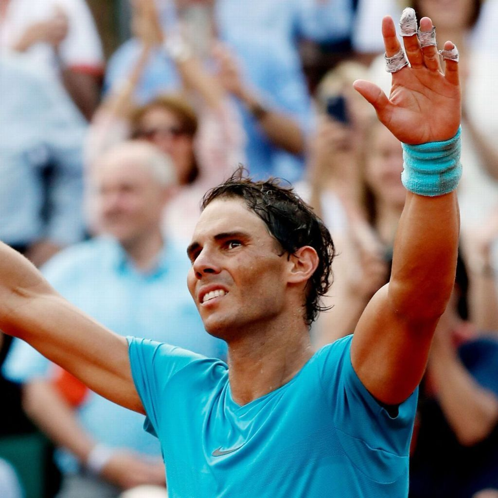 Same result, different day for French Open champion Rafael