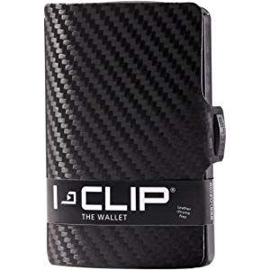 I CLIP Geldbörse Robutense Gunmetal Black Carbon