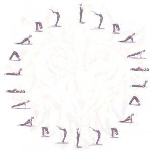 sun salutation or surya namaskar is a series of 12 asanas