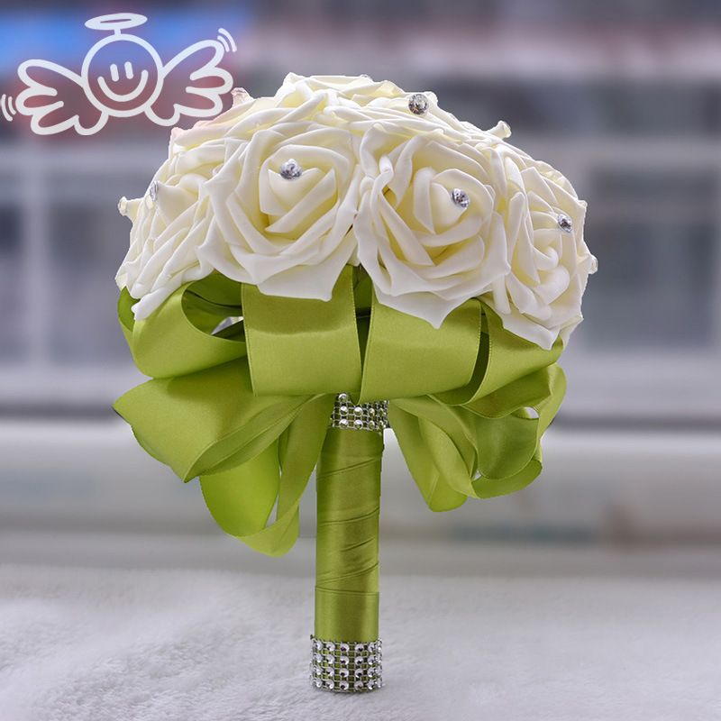 Bridesmaid Rose Artificial Hands Holding Wedding Flowers | Wedding ...