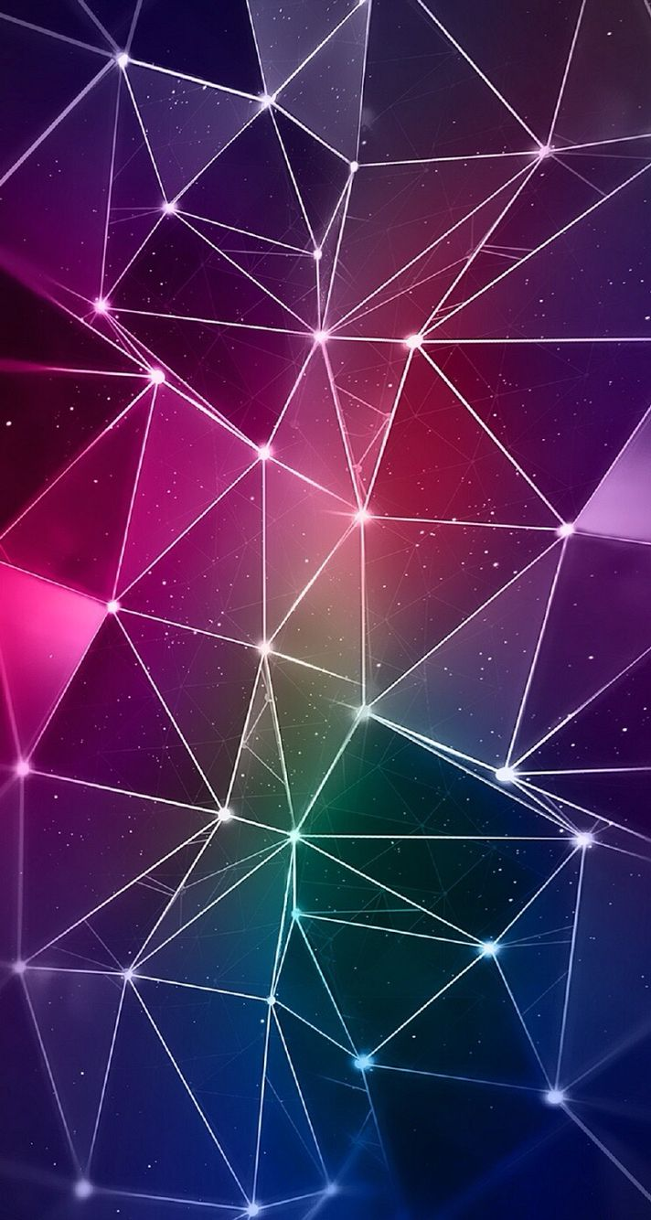 iPhone 6/6S Wallpaper in 2019 Geometric wallpaper iphone