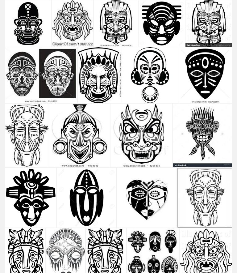 Pin By Marcus On Art African Tribal Tattoos African Tattoo