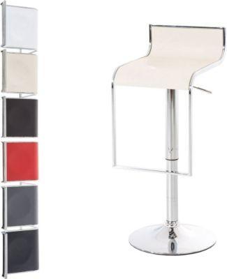 Design Barhocker BRIX höhenverstellbar 59 - 81 cm, Kunstleder Bezug