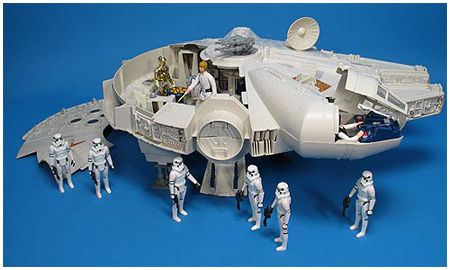 Kenner Star Wars Millennium Falcon....one of my best Christmas gifts ever!!!