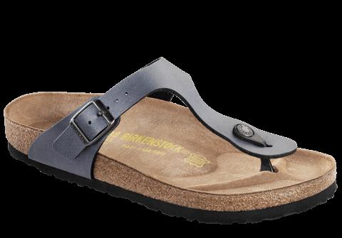 Birkenstock Gizeh Damen Grau Riemen Sandalen Schuhe Neu cYFS0B