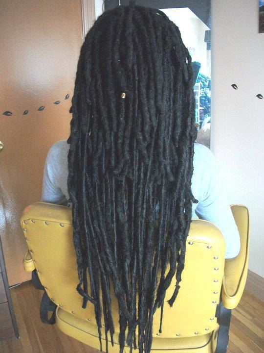 Human Hair Dreadlock Extensions Permanent Dread By Studiosundari