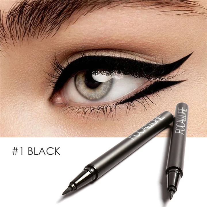 Liquid Eyeliner Waterproof Long Lasting Black Gel
