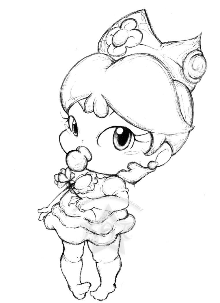 imagenes de princesas bebes para pintar e imprimir | princesas ... - Baby Princess Peach Coloring Pages