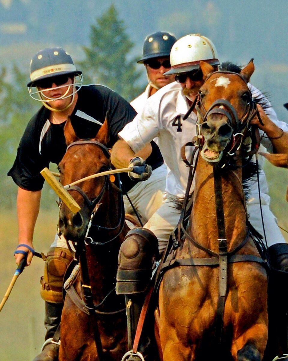 Okanagan Polo Club August Long 2012 Tournament. Marty Wales and Ross Adam