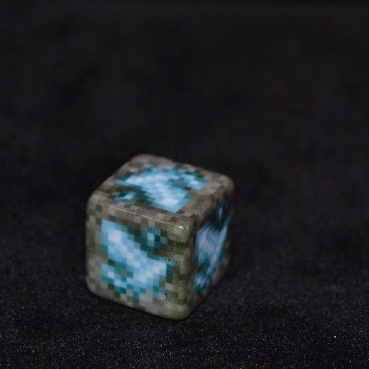 Build Models From Games Like Minecraft In Real Life With This Diamond Ore Block