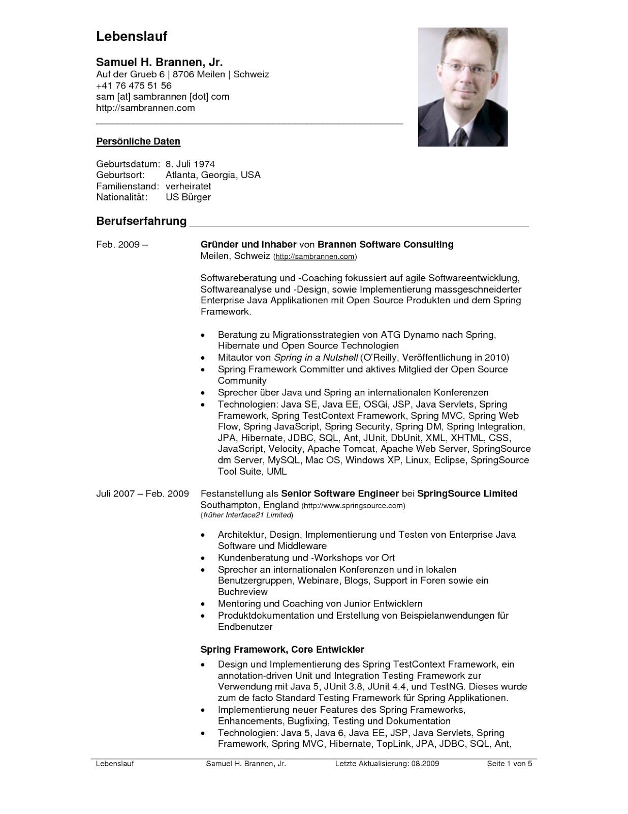 Lebenslauf Vorlage Schweiz Dokument Blogs Wichtige Dokumente