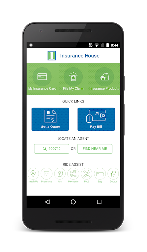 Auto Insurance App Android Design App Design Finance App