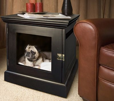 furniture pet crate. Dog · DenHaus Wooden Crate Furniture Pet
