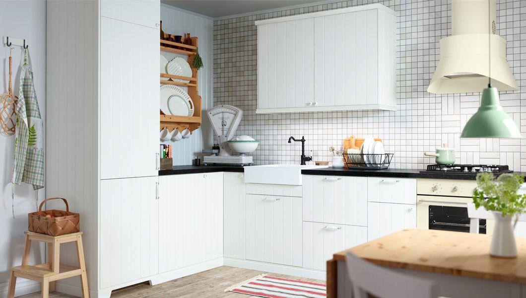 Landhausküchen ikea metod  Pin von Martina Bathelt auf Kitchen | Pinterest | Küche