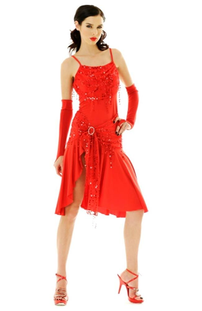 f5d432cf19a9 Short Red Salsa Dress | My Style | Salsa dress, Dresses, Dance dresses