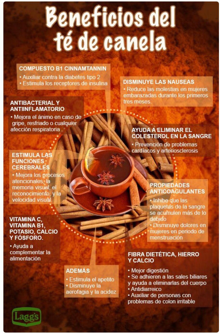 Te De Canela Beneficios De Alimentos Recetas Para La Salud Bebidas Saludables