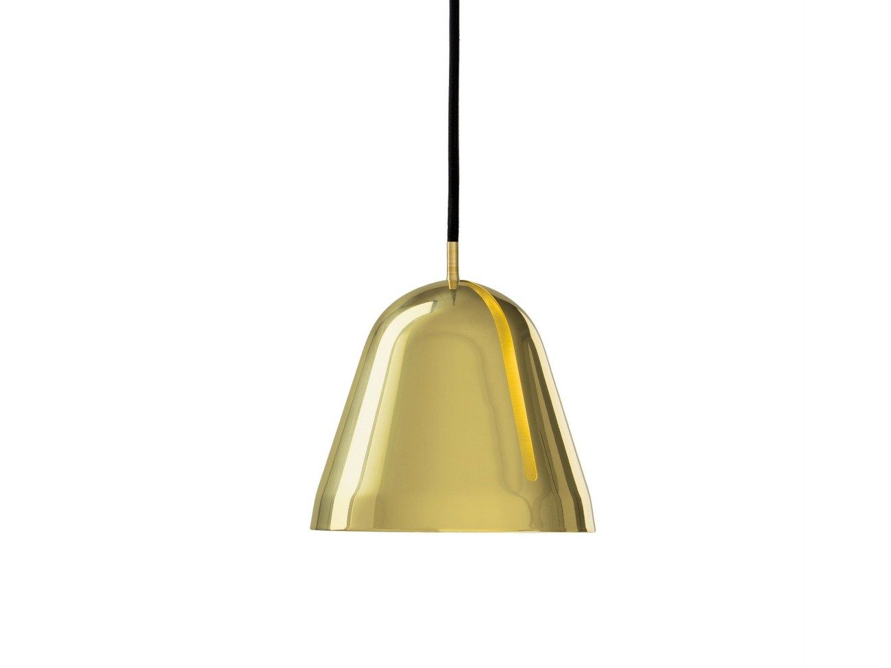 Adjustable brass pendant lamp tilt s brass by nyta lampes
