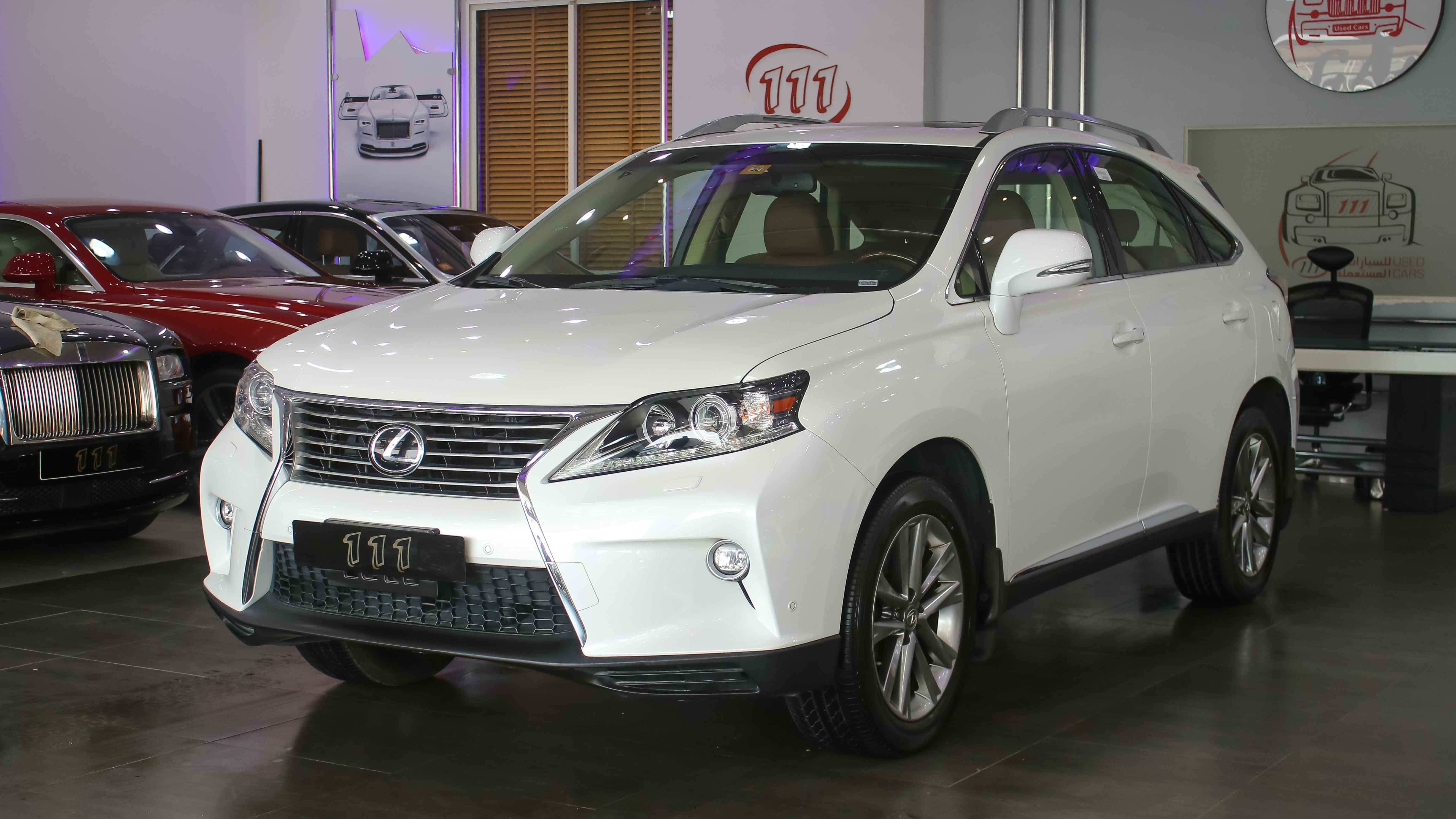 2015 Lexus RX 350 / GCC Specifications / Warranty Lexus