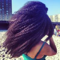Nikia Phoenix // Natural Hair Style Icon | Black Girl with Long Hair