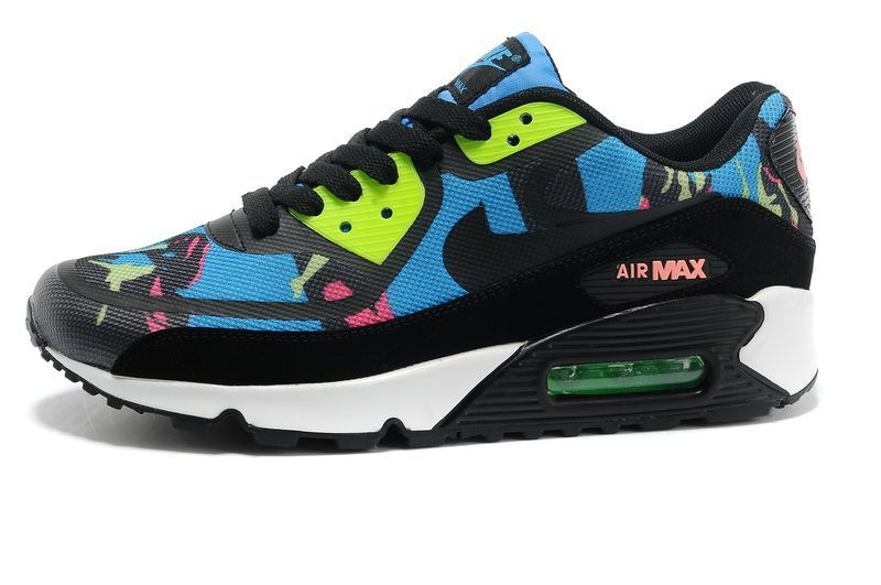 Nike Air Max 90 Tape Blue Hero Flash Lime Atomic Red