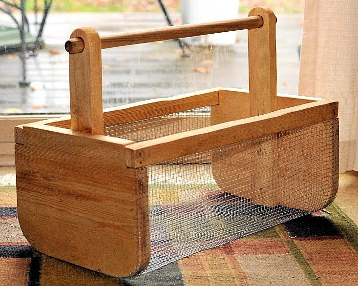 garden hod basket Projects to Try Pinterest Organic gardening